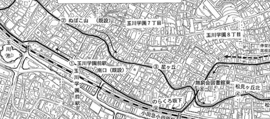 玉ちゃんバス南ルート図w600