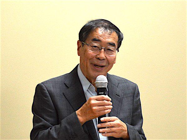 玉川学園町内会 松香会長