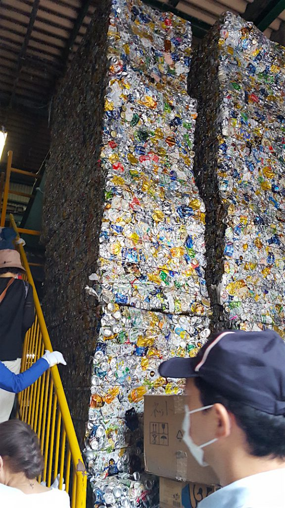 環境リサイクル見学会 01