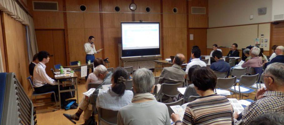 玉川学園町内会 防犯講演会、防災連絡会を開催