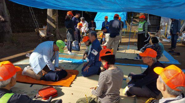第1.2地区防災訓練